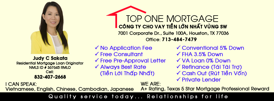 Top One Mortgage Houston